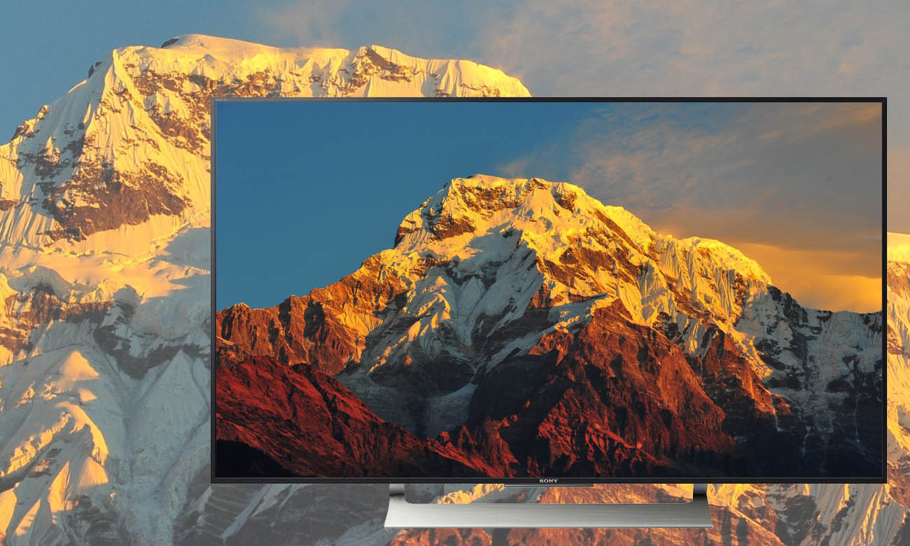 Jakośc Ultra HD w telewizorze 55XE9005 Sony