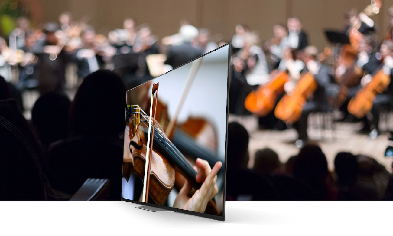 Systam dźwięku w telewizorze Sony OLED KD-65AG8