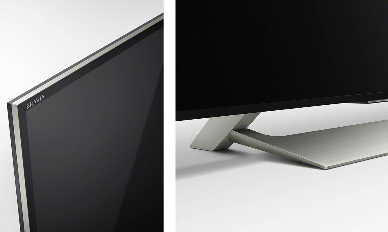 Smukły telewizor Sony 55XE9005