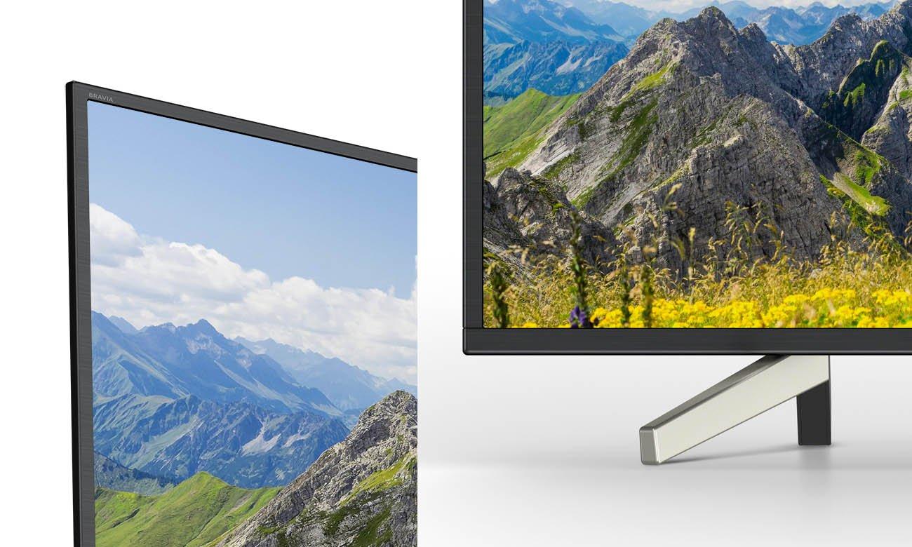 Smukły telewizor Sony 55XF7596