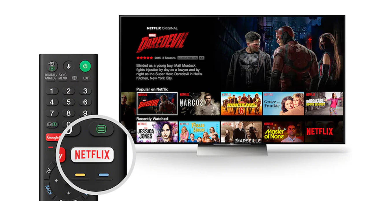 Smart TV z systemem Android Sony 65XF8505