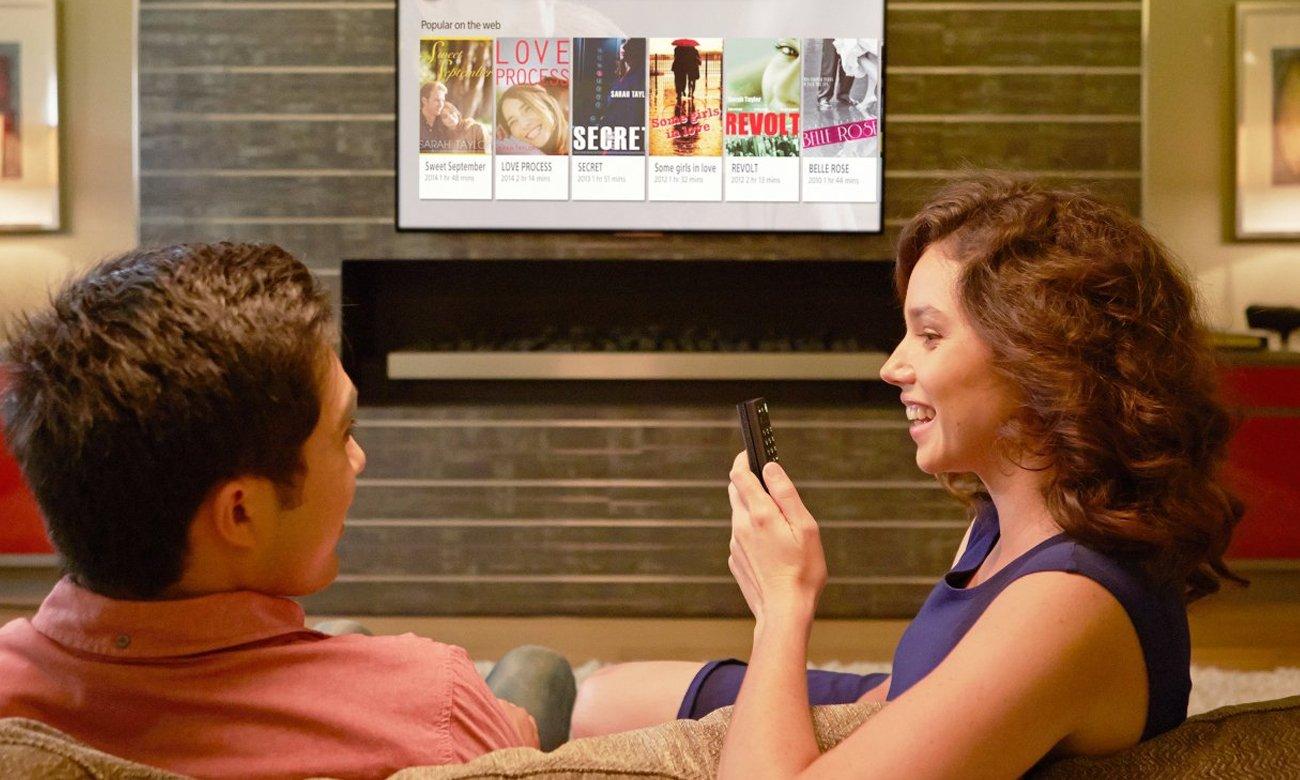 System dźwięku Clear Audio+ w tv Sony KD-43X8309C