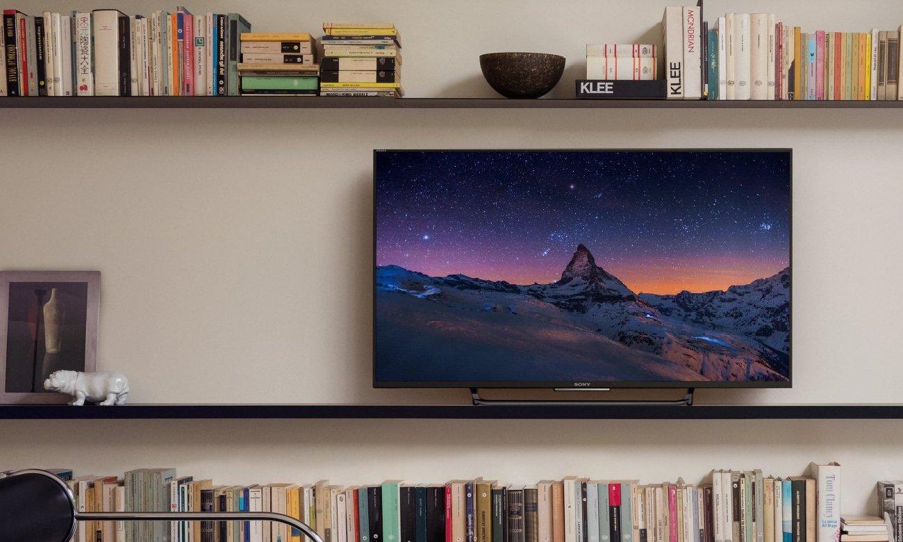 Aplikacje w telewizorze Sony KD-43X8309C