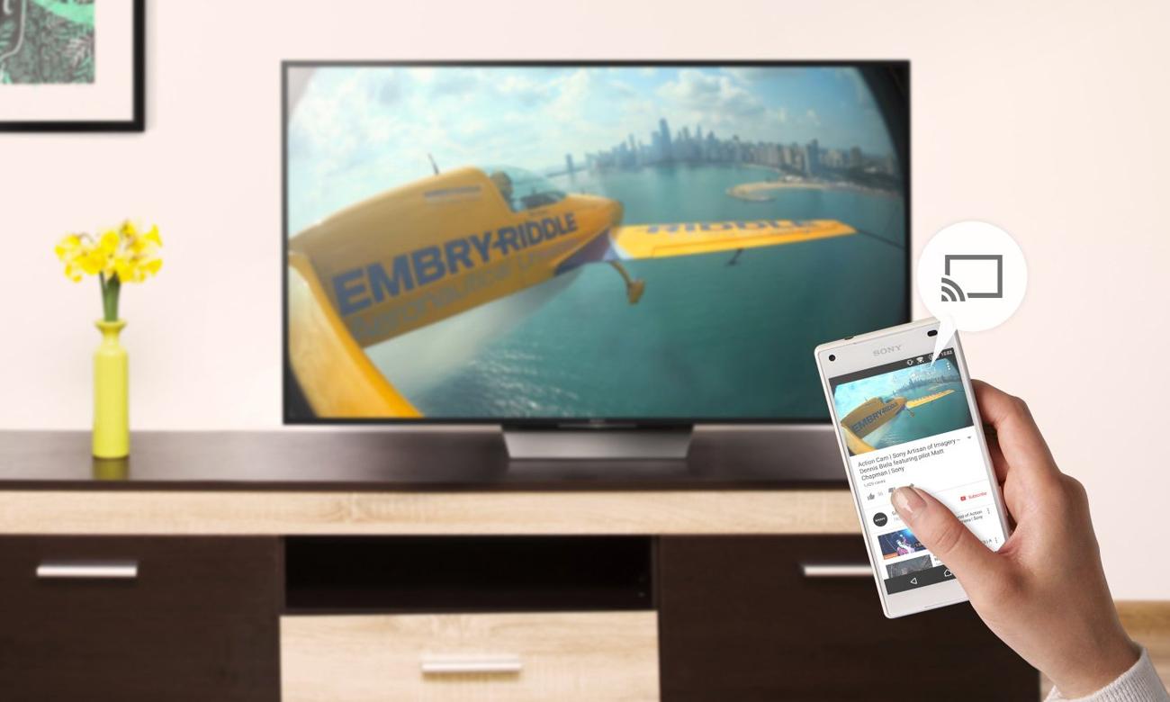 Telewizor Sony KD-49XD8005 z łącznością Wi-Fi