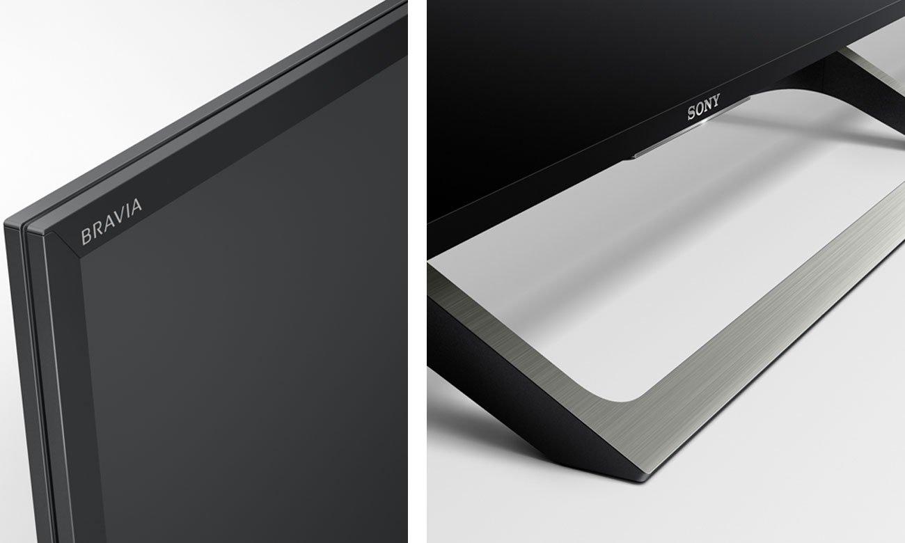 Smukły telewizor Sony KD-55XE7005