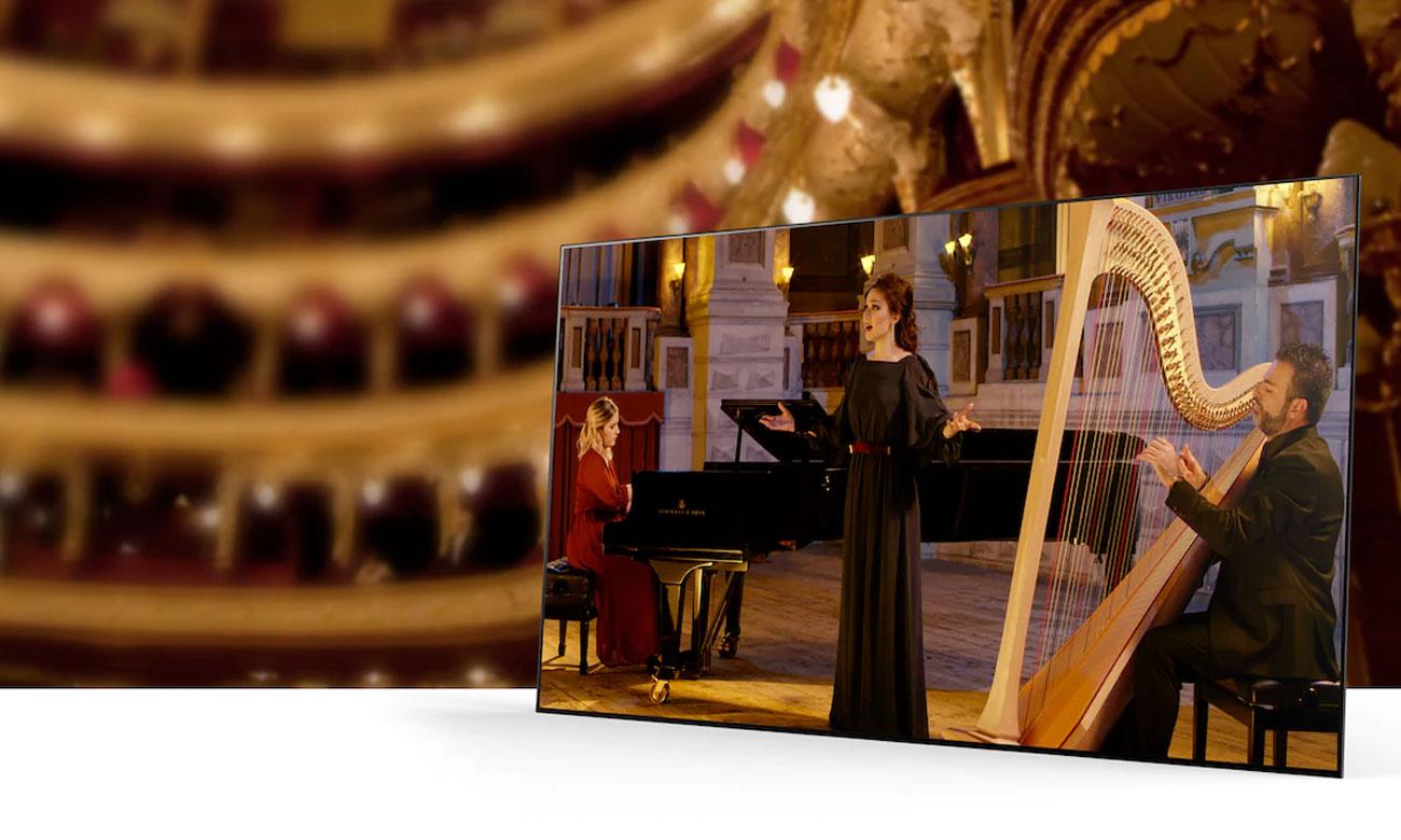 Systam dźwięku w telewizorze Sony OLED KD-55AG9