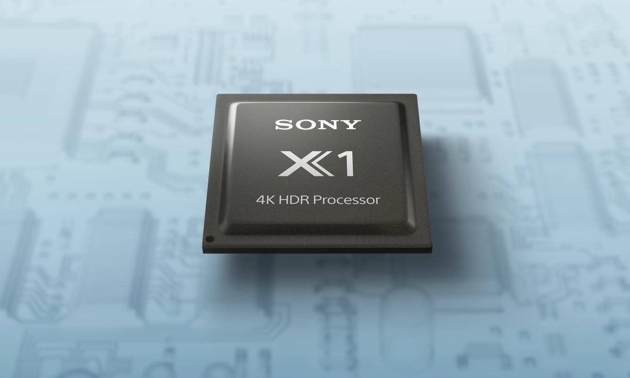 Każdy szczegół w jakości 4K w Sony KD-65XH8096