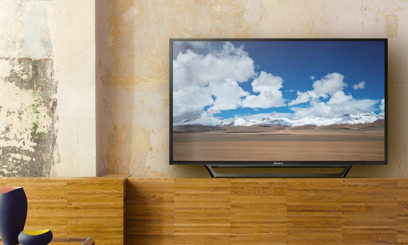 Wysoka moc dźwięku z tv KDL-32RD430 firmy Sony