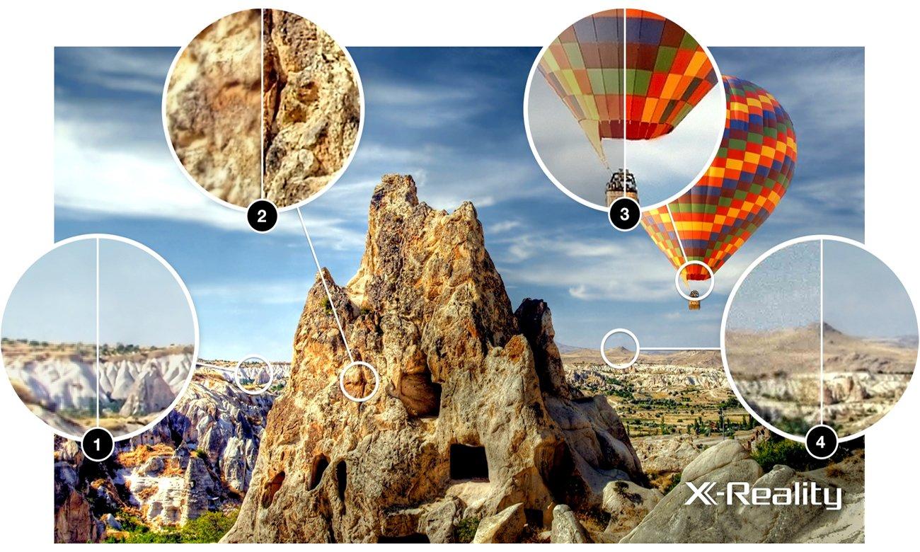 Technologia X-Reality PRO w telewizorze Sony KDL-32RD430