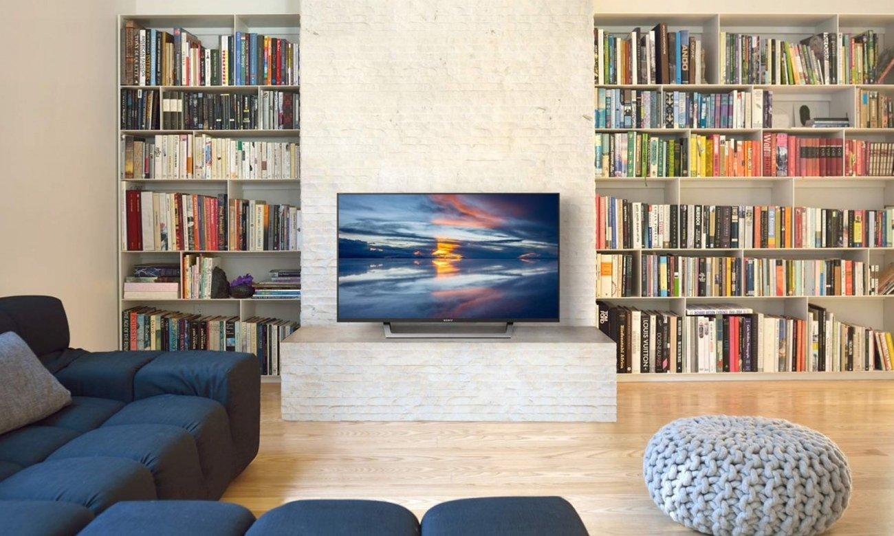 Wysoka moc dźwięku z tv KDL-49WD755 firmy Sony