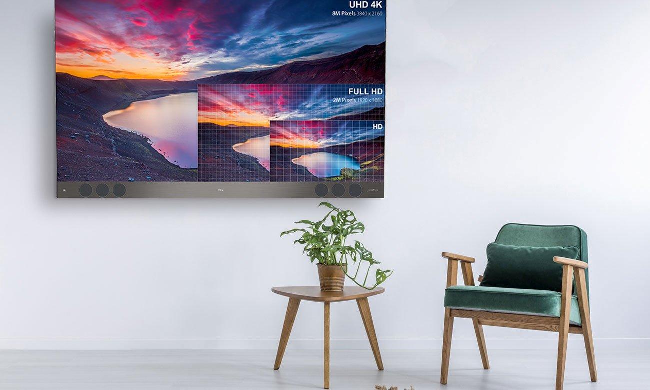 Telewizor Ultra HD TCL U55X9006
