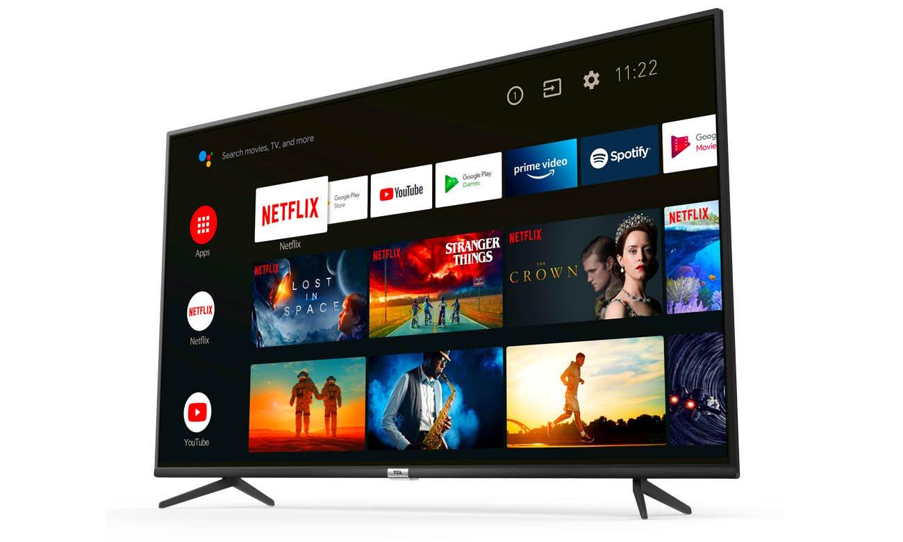 Telewizor z Androidem TCL 43P615 4K
