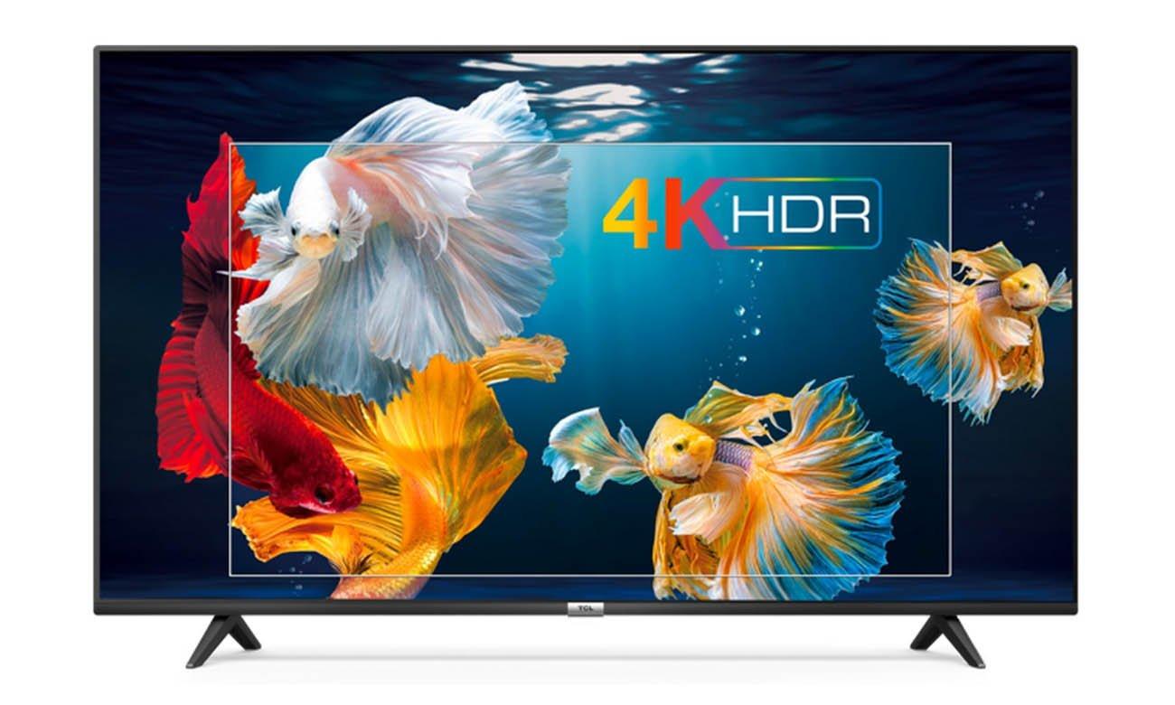 Telewizor 4K HDR TCL 50P610
