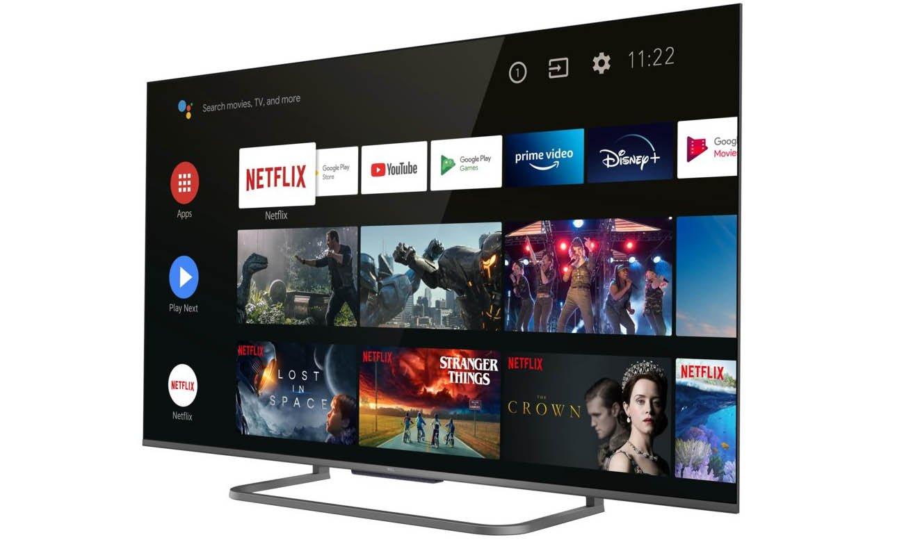 Telewizor z Androidem TCL 55P815 4K