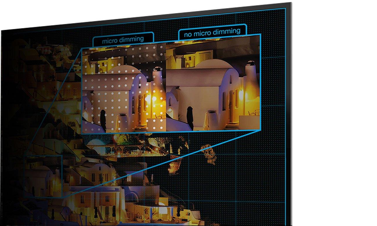 Funkcje poprawy jasności scen w tv TCL U49P6006
