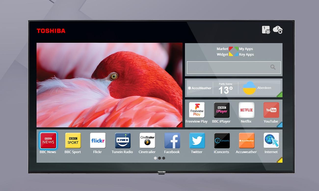 Toshiba Smart Portal w TV 32W3063DG