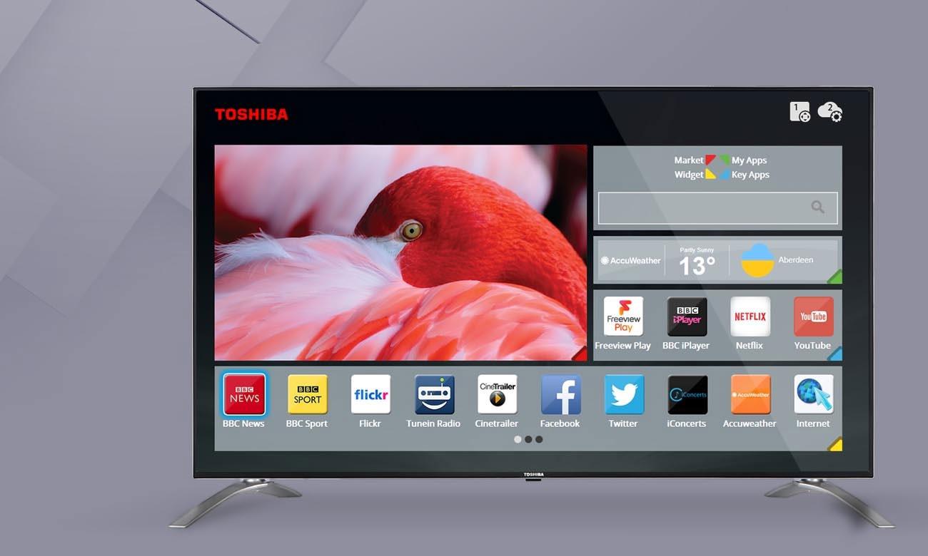 Toshiba Smart Portal w telewizorze Toshiba 32W3733DG