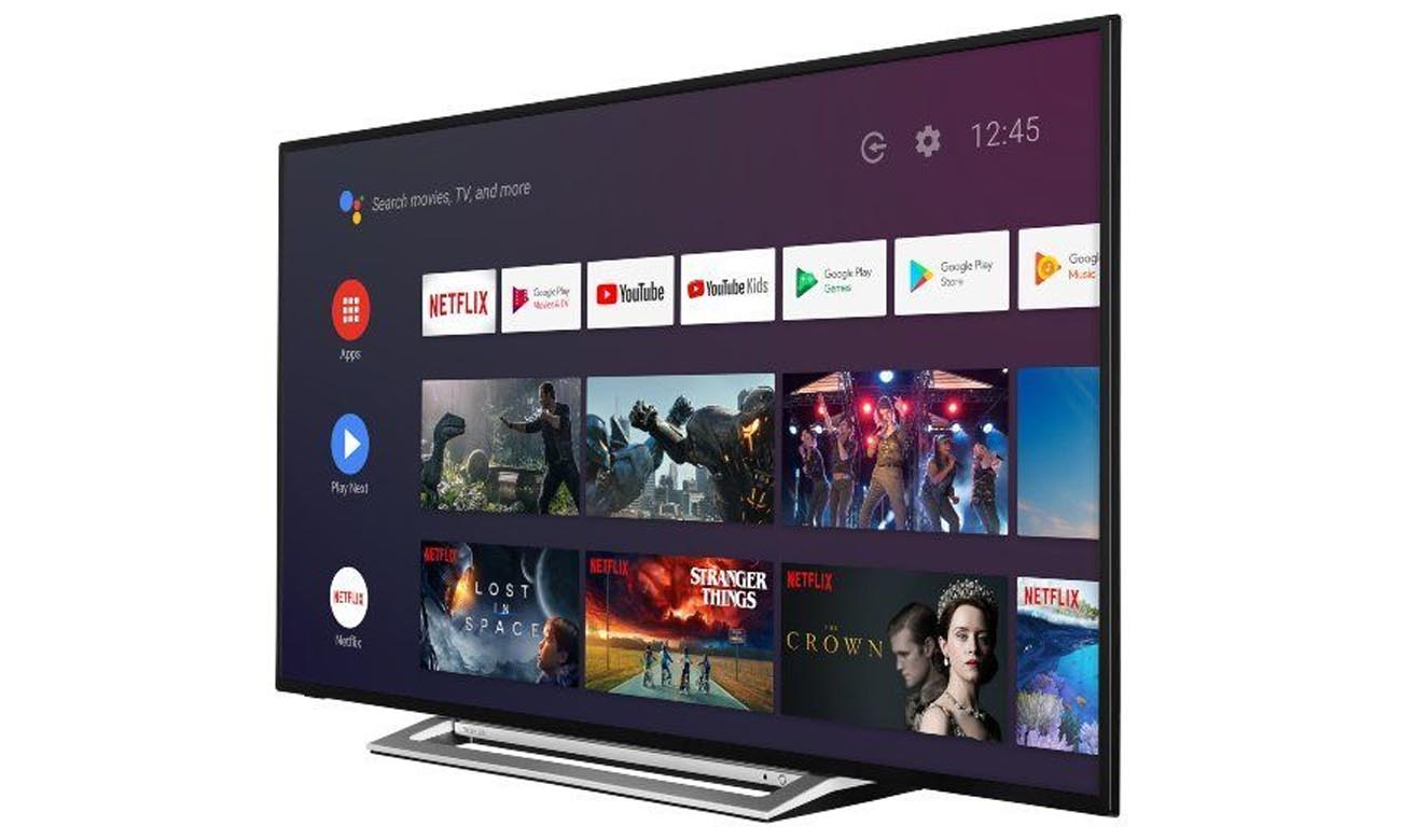Smart TV w 50UA3A63DG Android TV