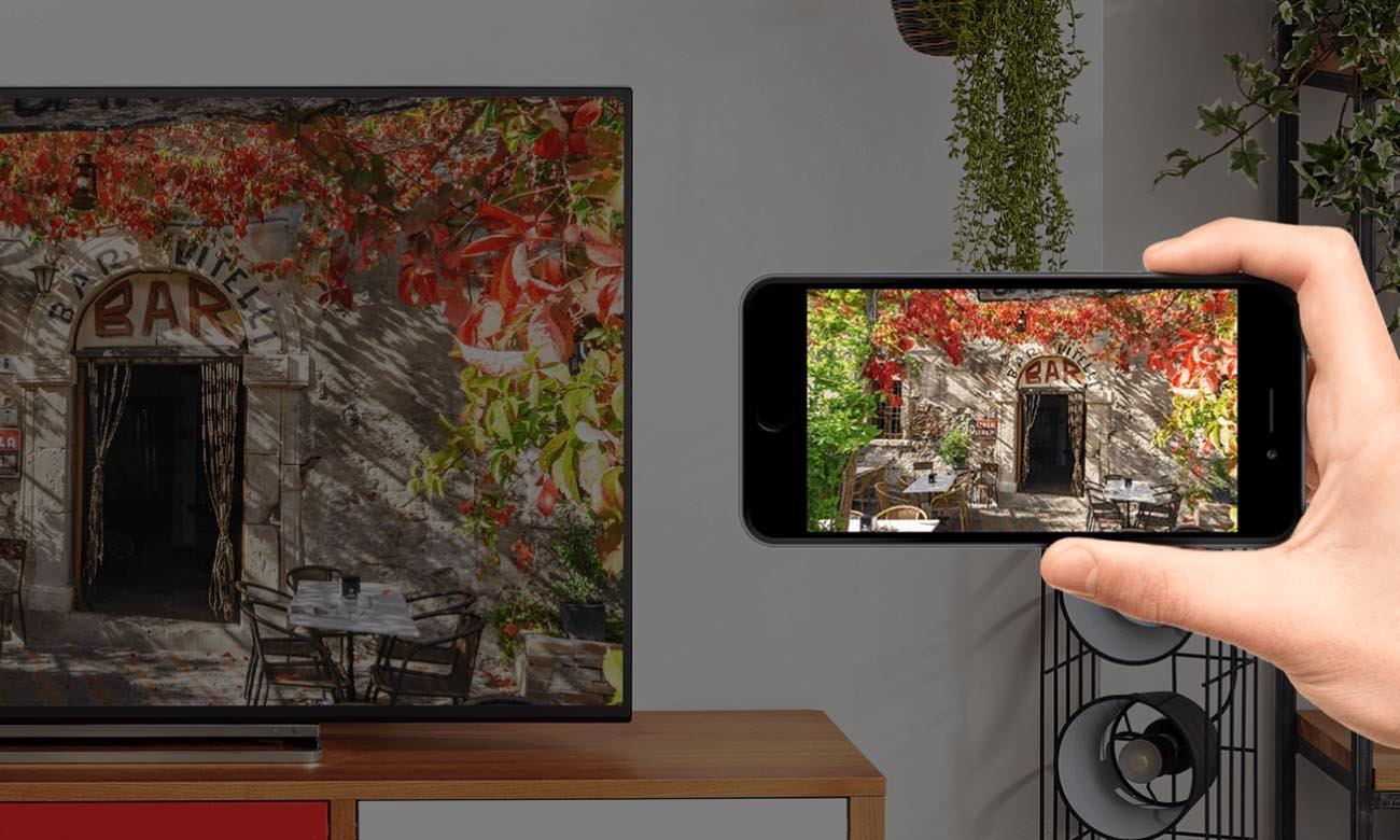Telewizor Toshiba 50UA3A63DG z obsługą Asystenta Google oraz Chromecast