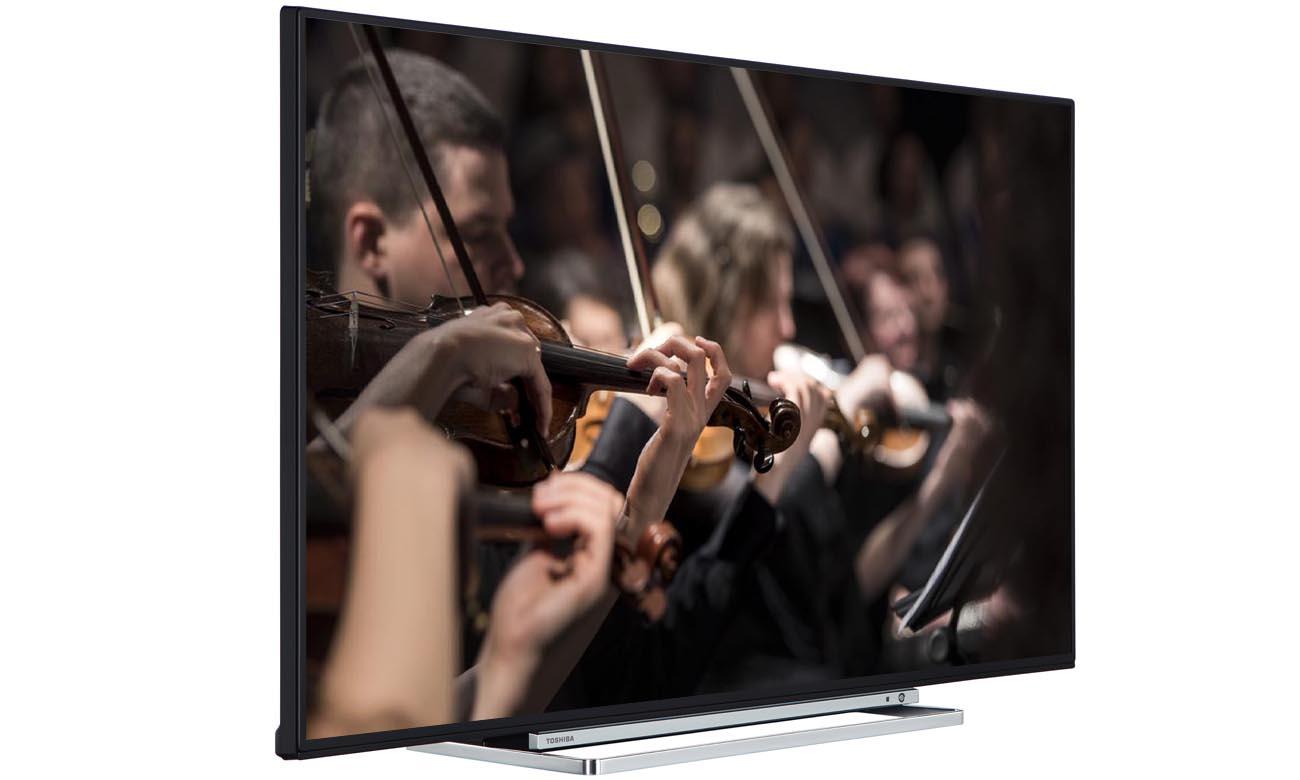 Doskonały dźwięk z telewizorem Toshiba 55U6763DG