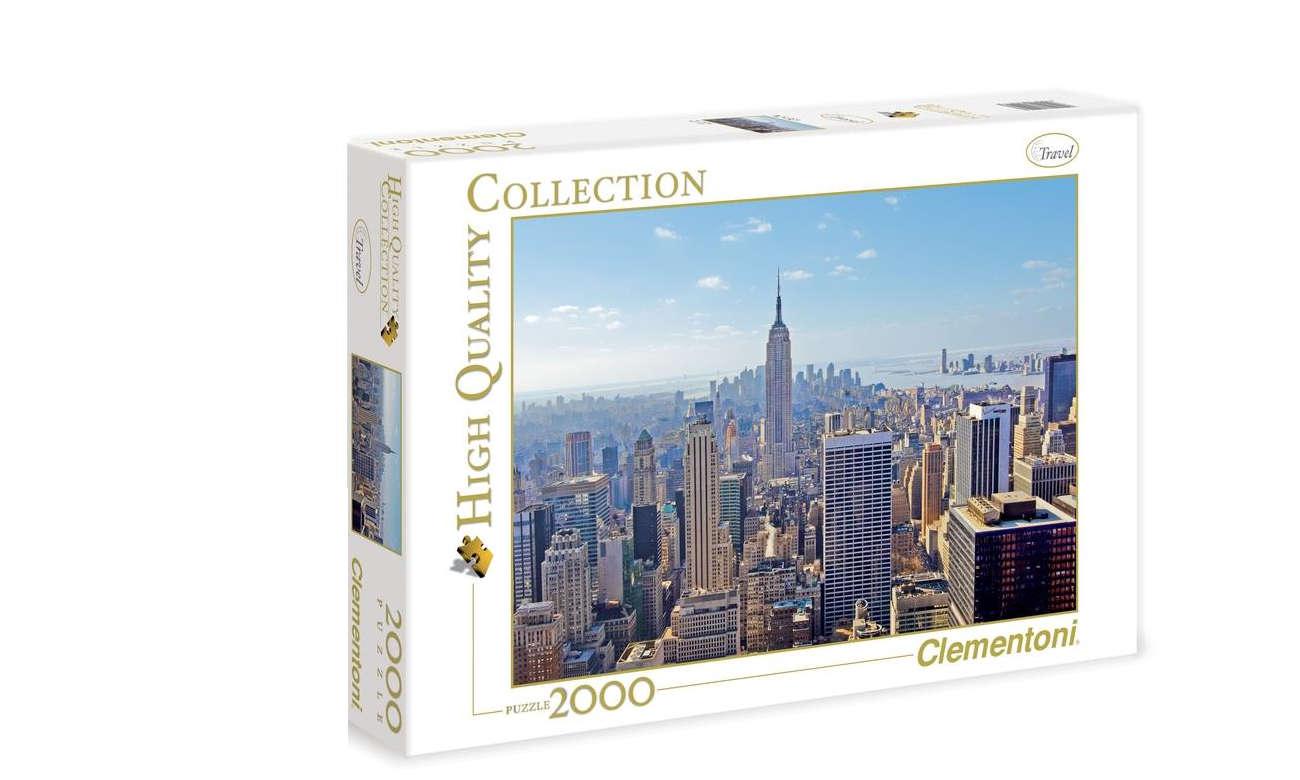 Clementoni Puzzle HQ New York 32544