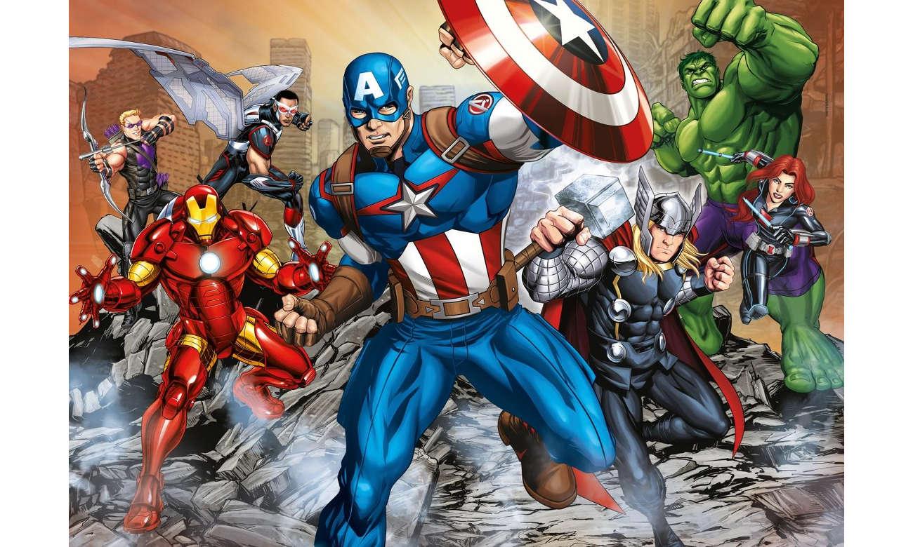 Clementoni Puzzle Disney Maxi Super Kolor The Avengers 104 el. 23985