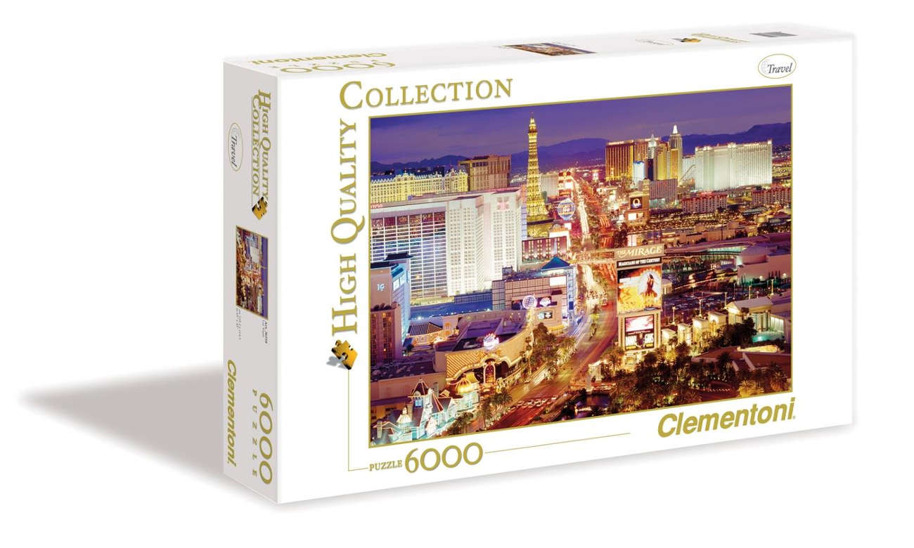 Clementoni PuzzleHQ Las Vegas 36510