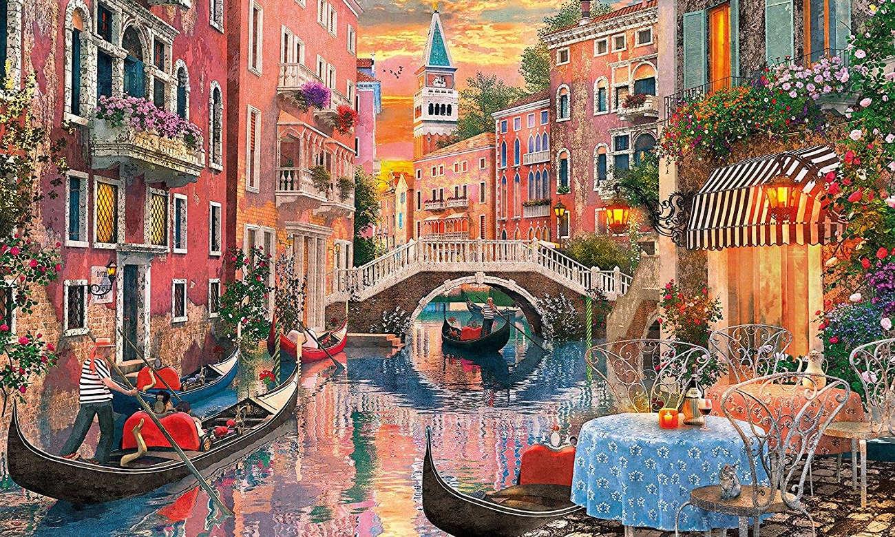 Clementoni PuzzleHQ Venice Evening Sunset 36524