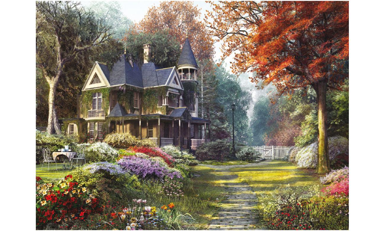 Puzzle Clementoni HQ Victorian garden 39172