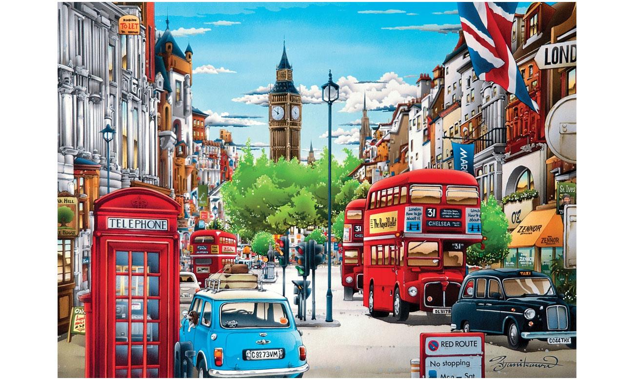 Puzzle Clementoni HQ London 39339