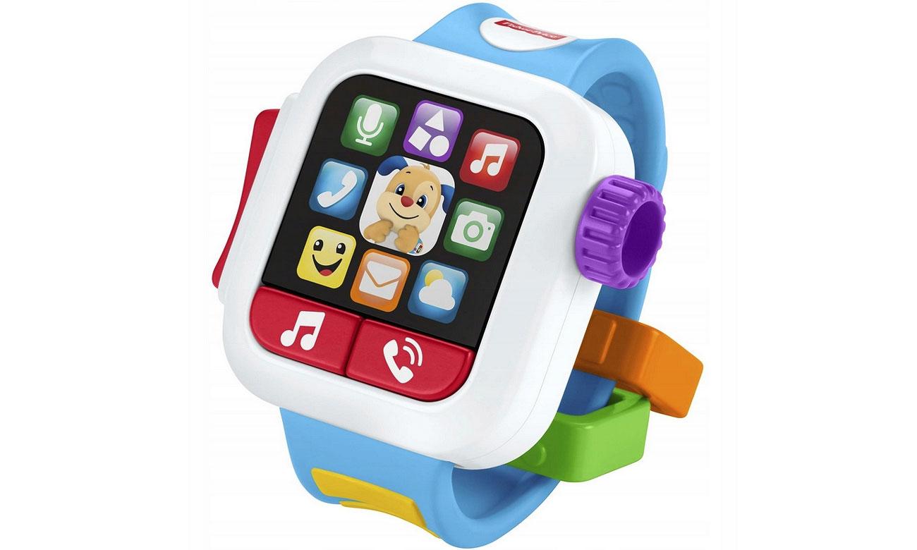 Fisher-Price Smartwatch Szczeniaczka Czas na naukę GMM43