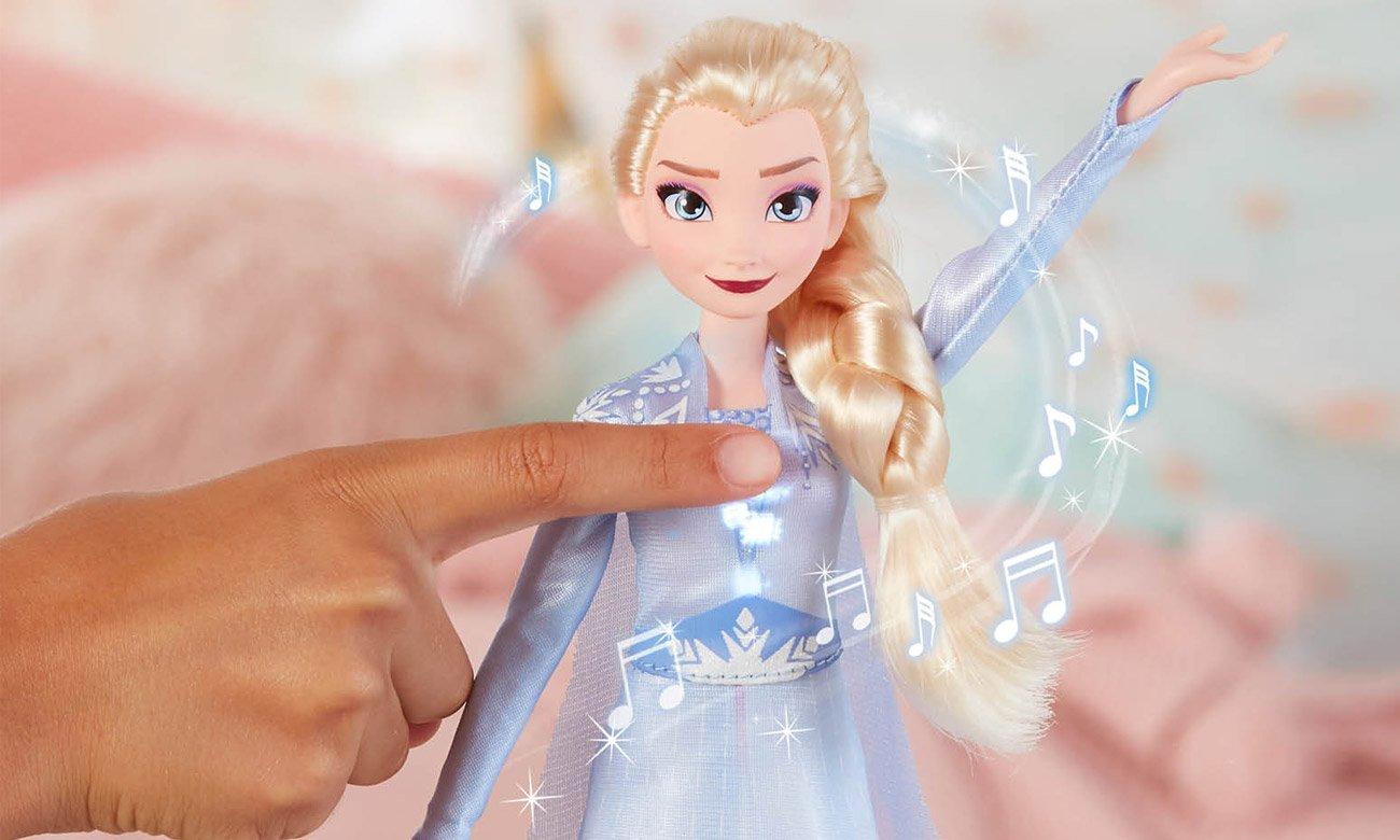 lalka Śpiewająca Elsa Kraina Lodu E6852