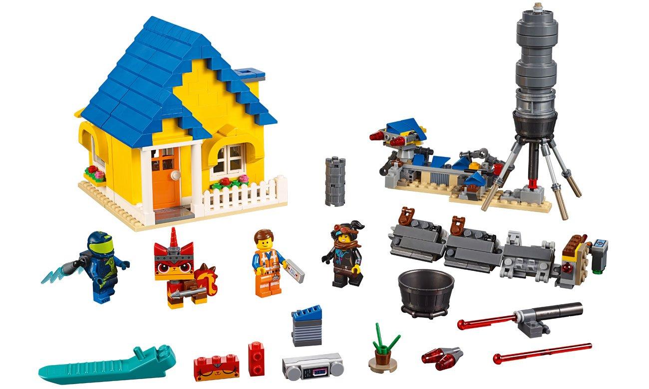 Lego Movie Dom Emmetarakieta Ratunkowa Klocki Lego Sklep