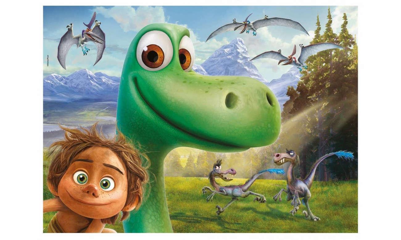 Lisciani Giochi Disney Dwustronne Maxi 35 el. Dobry Dinozaur 304-52820