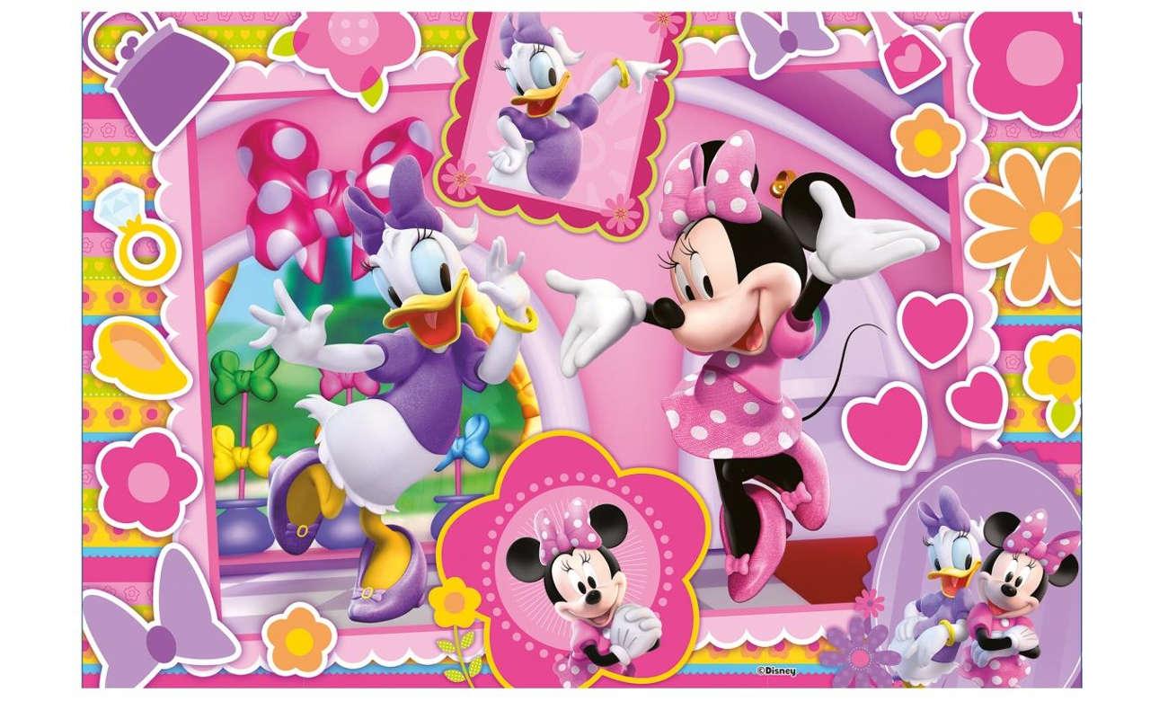 Lisciani Giochi Disney dwustronne 60 el. Minnie 304-47918