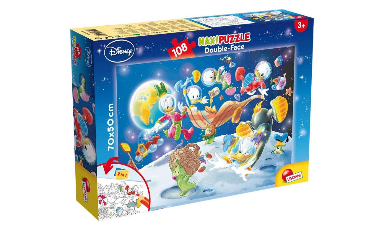 Puzzle Lisciani Giochi Disney dwustronne Maxi 60 el. Księżniczki 304-48250