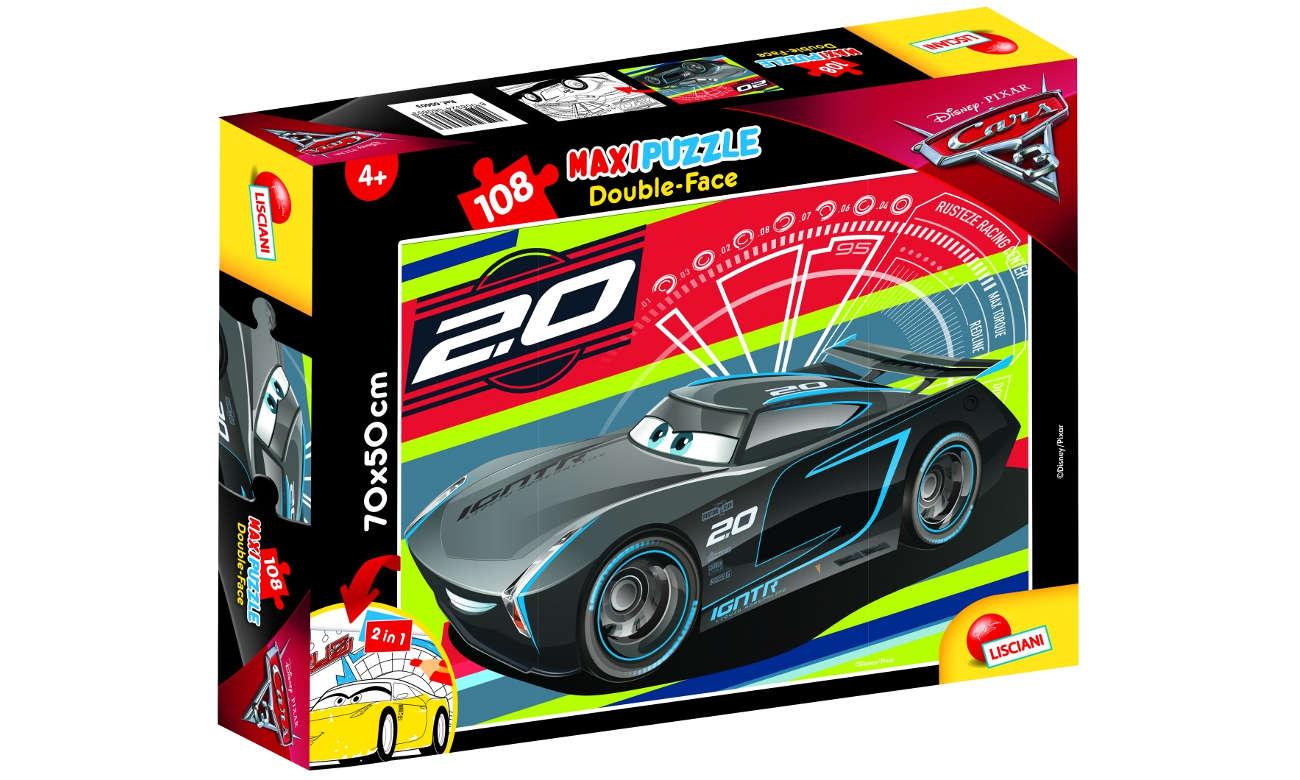 Puzzle Lisciani Giochi Disney dwustronne Maxi Cars