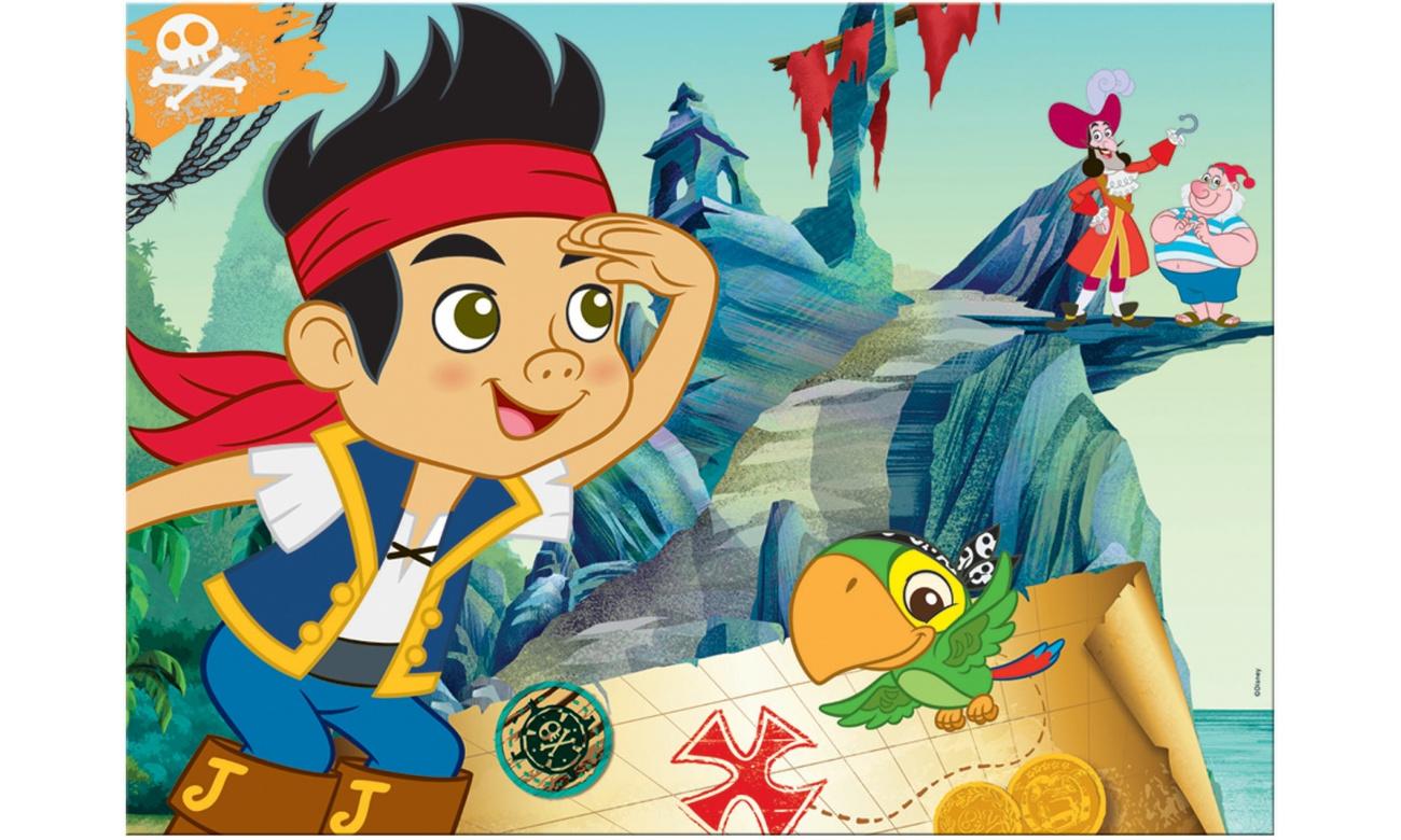 Puzzle Lisciani Giochi Disney dwustronne Maxi Jake