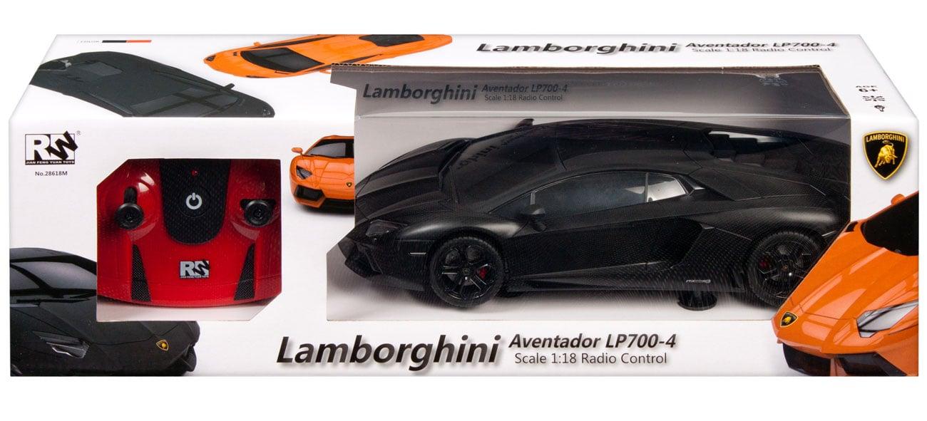 MEGA CREATIVE Samochód Lamborgini RC czarny 5902012752357