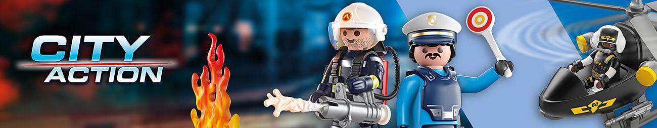 Klocki dla dzieci Playmobil city action