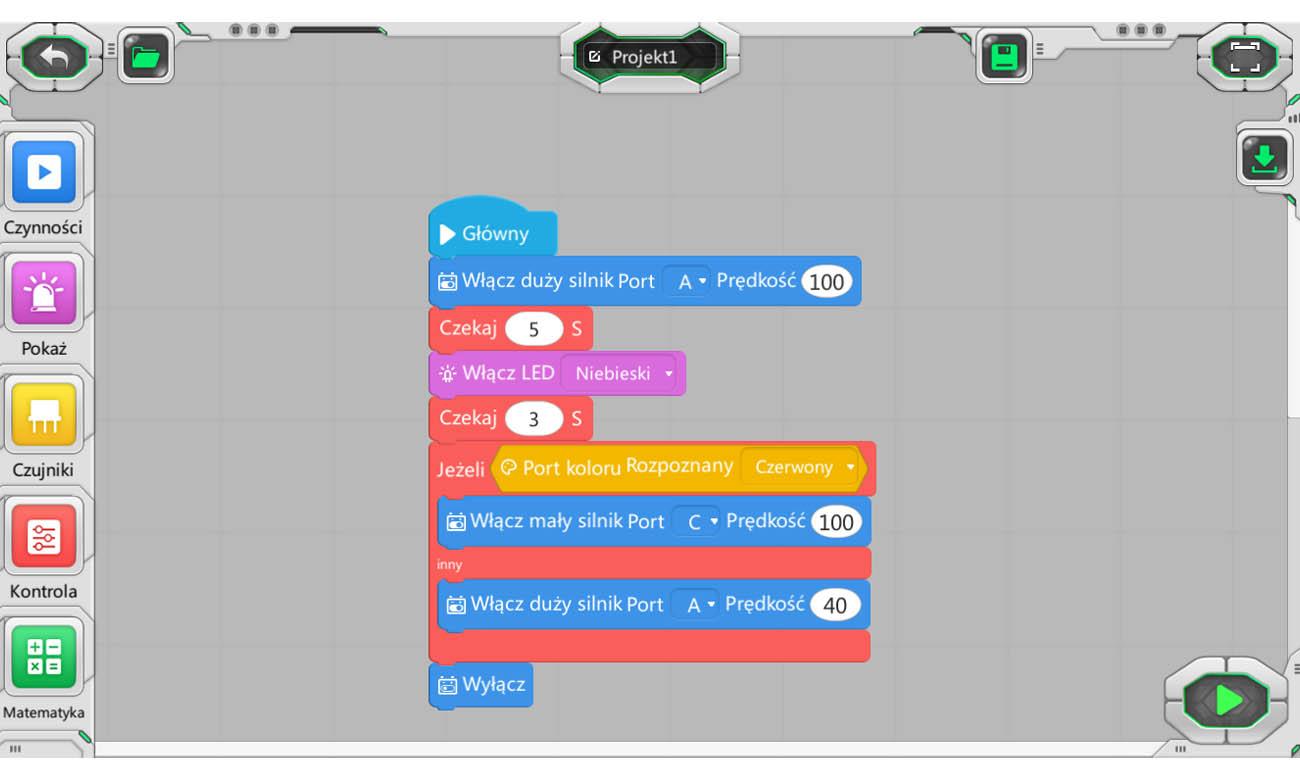Dedykowana aplikacja na urządzenia mobilne Abilix do robota Krypton 0