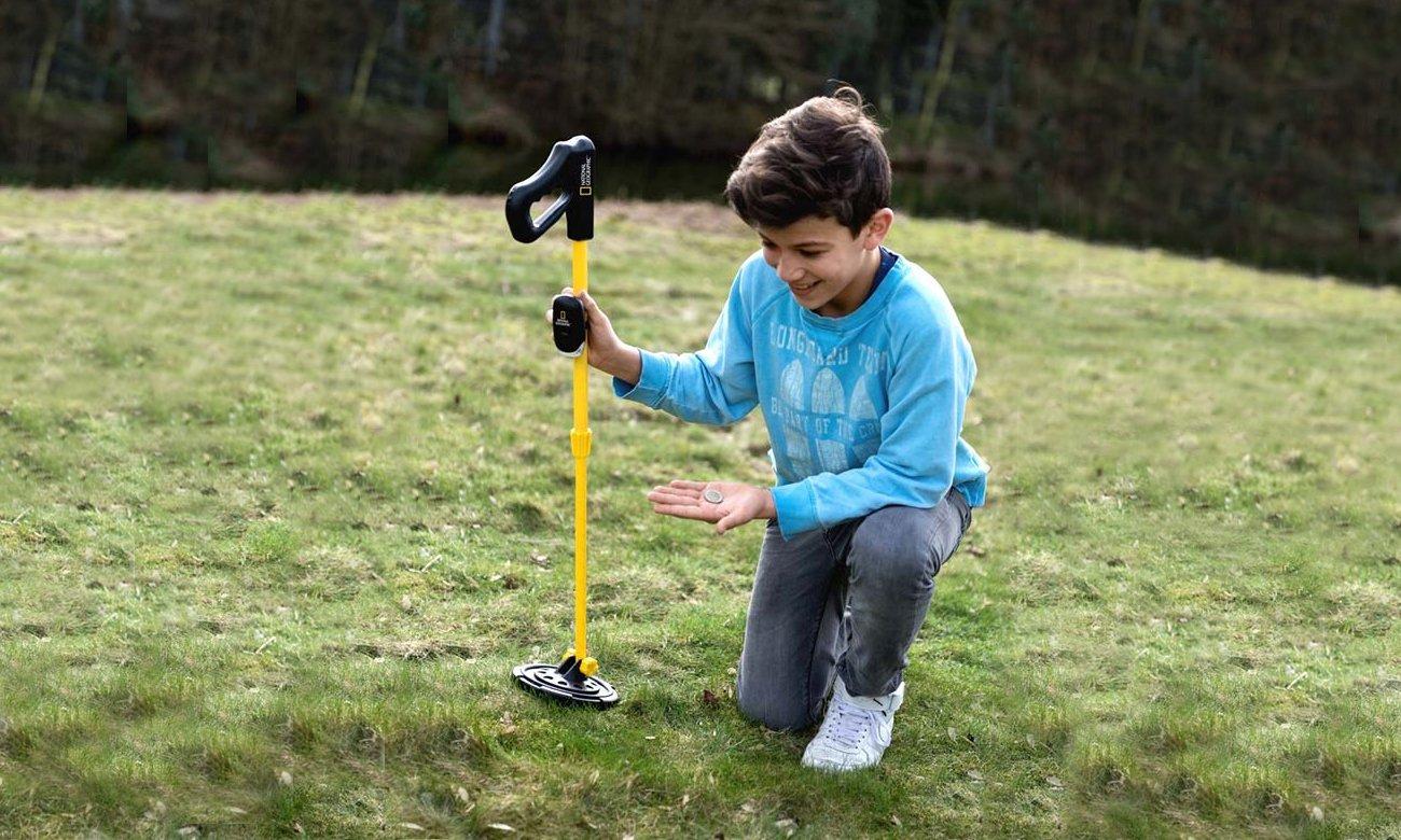 Bresser Wykrywacz metalu dla dzieci National Geographic