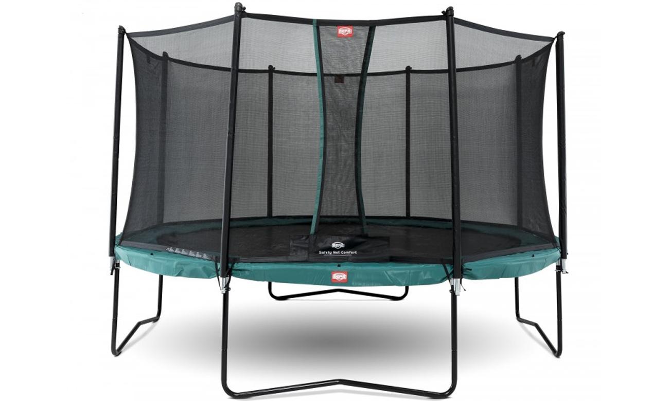 trampolina ogrodowa Berg Champion Green z siatką 270 cm
