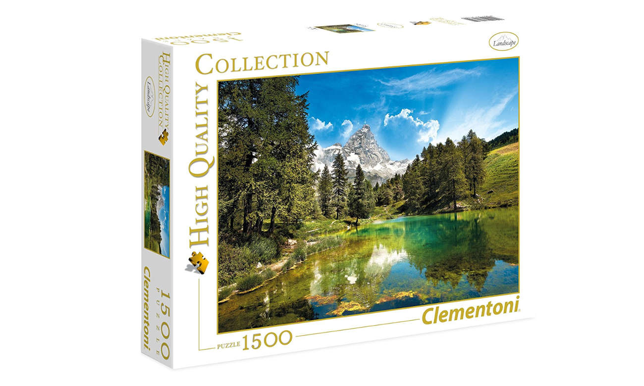 Clementoni Puzzle	HQ Blue Lake 31680