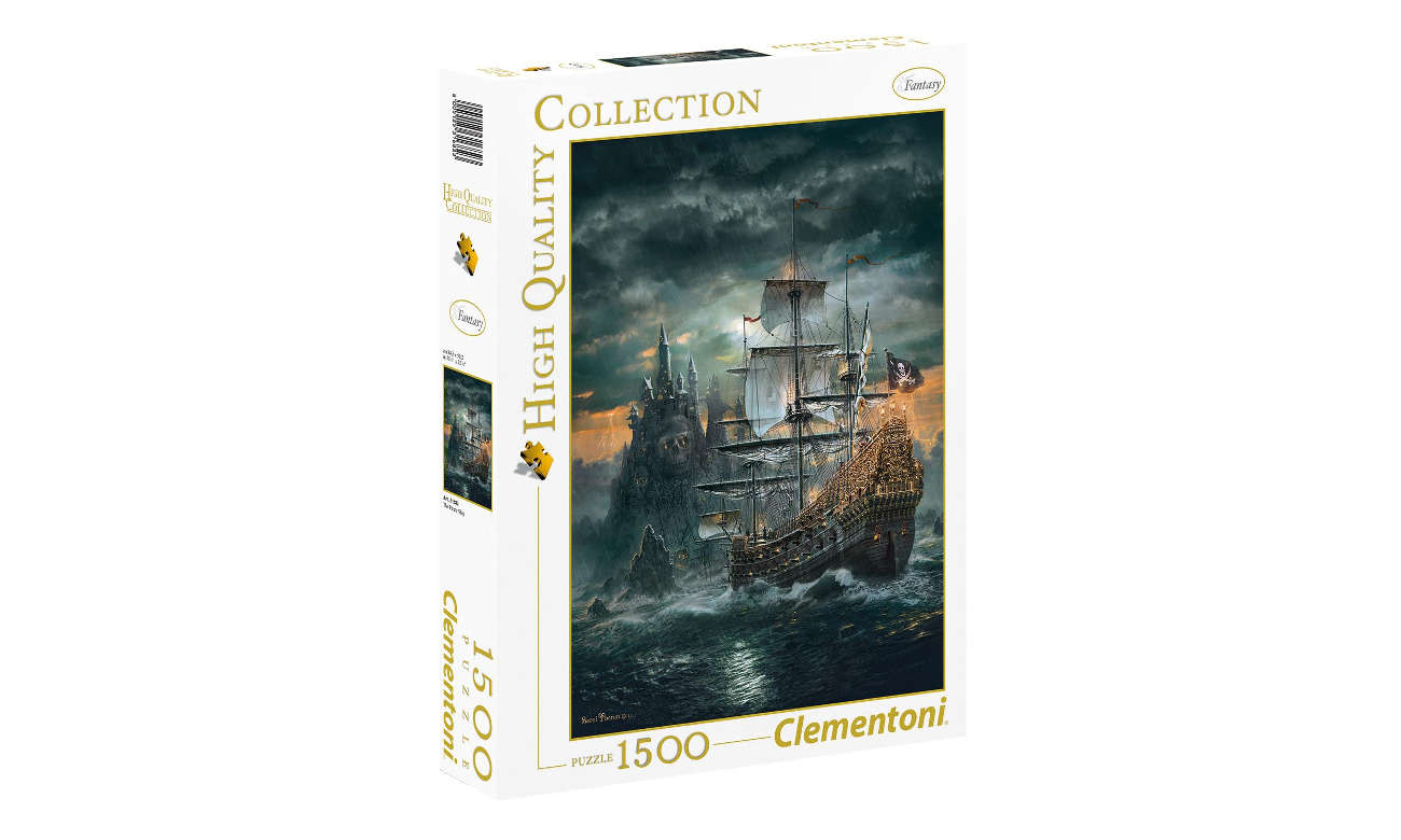 Clementoni Puzzle HQ The Pirate ship 316826