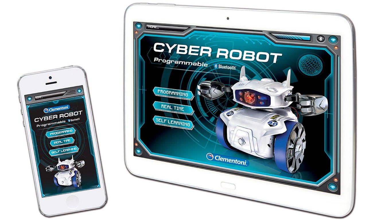 clementoni cyber robot aplikacja