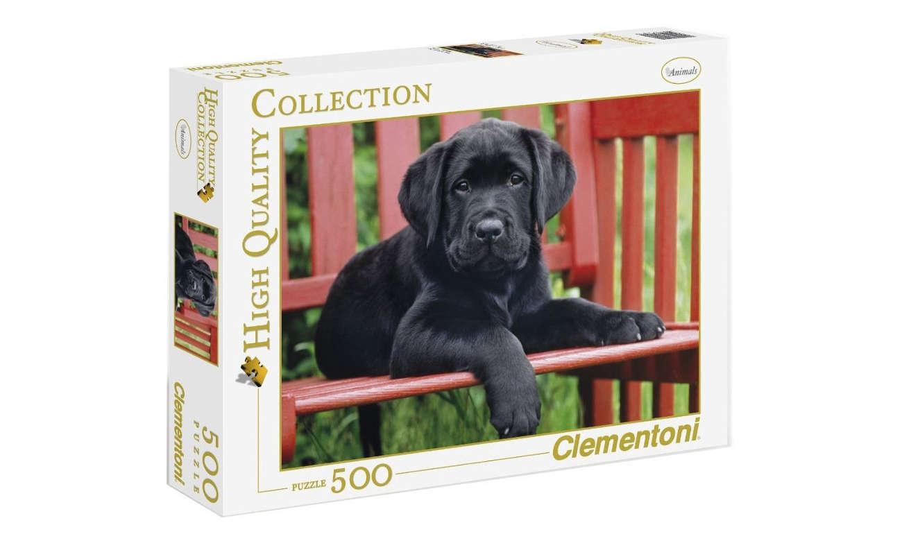Clementoni PuzzleHQ The Black dog 30346