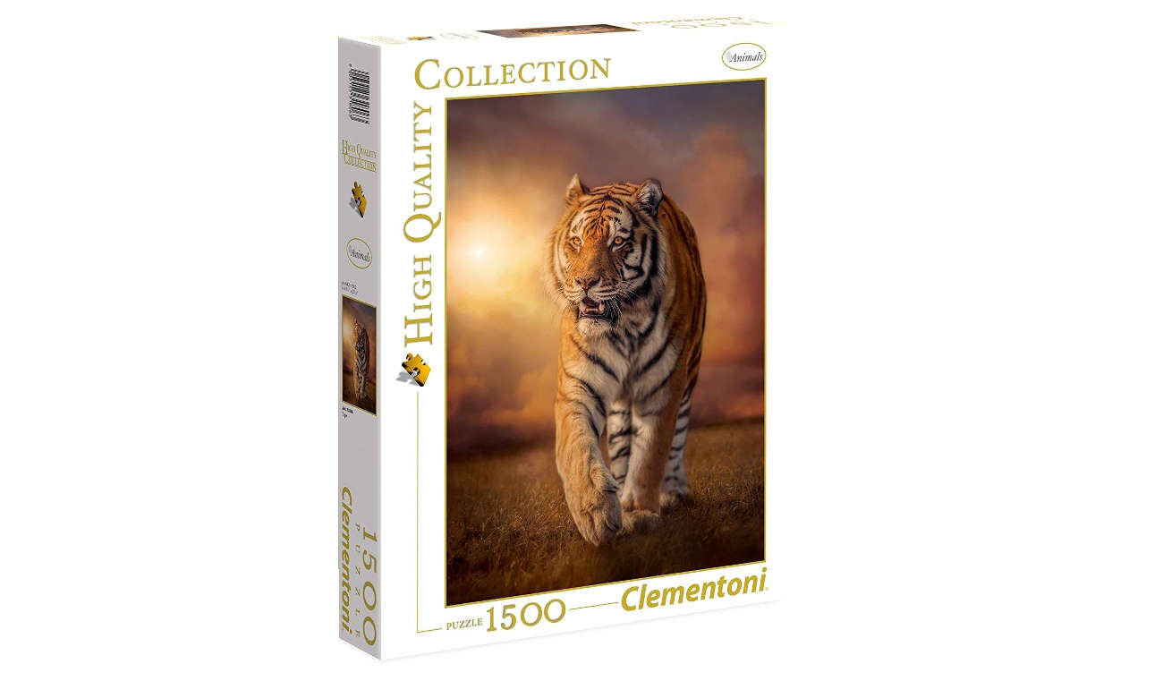 Clementoni PuzzleHQ Tiger 31806