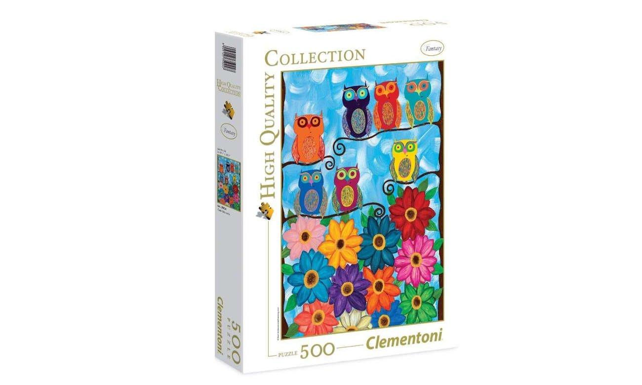 Clementoni Puzzle HQ Cute little owls 35024