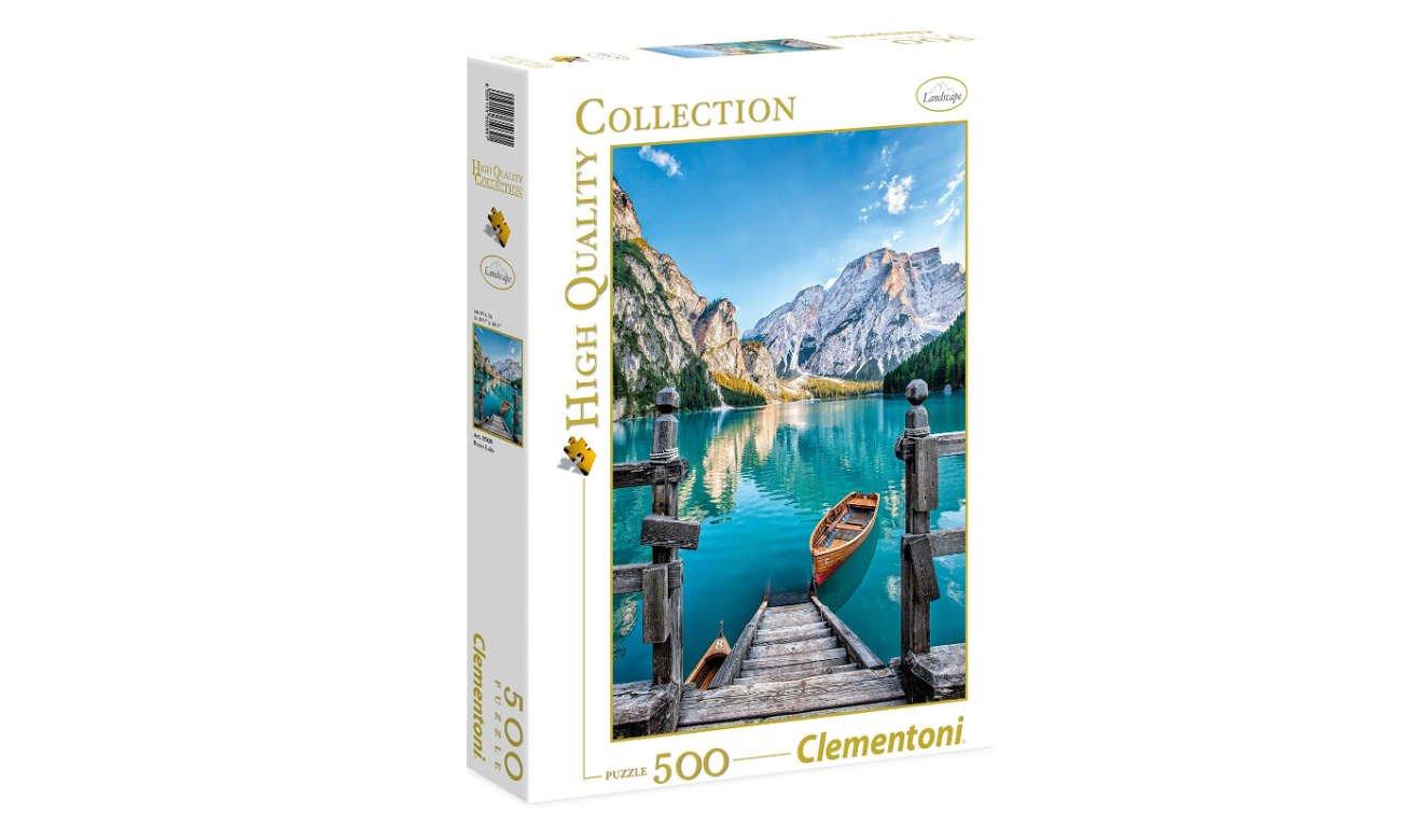 Clementoni PuzzleHQ Braies lake 35039